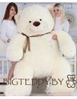 """Плюшевый медведь """"Плюшка"""" 230 см молочный"""