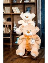 """Плюшевый медведь """"Милка"""" 100 см молочный"""