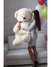 """Плюшевый медведь """"Плюшка"""" 160 см белый"""
