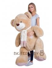 """Плюшевый медведь """"Потапыч"""" 160 см кофейный"""