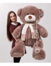 """Плюшевый медведь """"Потапыч"""" 160 см темно-коричневый"""