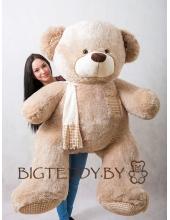 """Плюшевый медведь """"Потапыч"""" 180 см кофейный"""