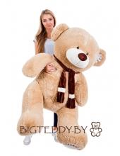 """Плюшевый медведь """"Потапыч"""" 175 см кофейный"""